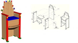 Furniture design woordworking